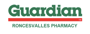 Roncesvalles Welcome Guardian Pharmacy Logo